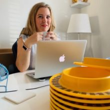 Sophia Procter and Munchy Play plates